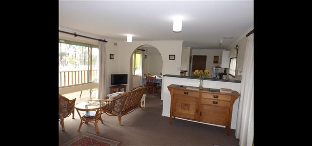 Interior of Apricot Cottage