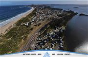 Aerial shot of Two Shores Holiday Village
