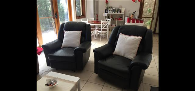 Recliners in lounge