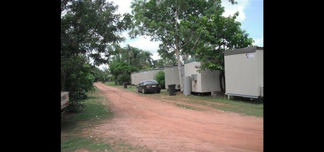 Cabins from the back