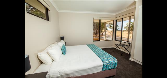 King Size Beds are the Feature in the bedrooms and offering great views.